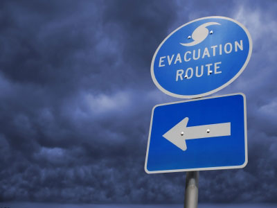 Disaster Prep - Evac Route