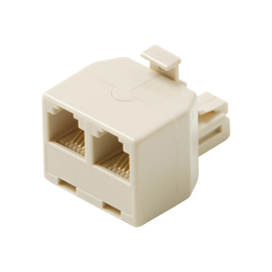 Adapter, Modular Tee, 4C, White