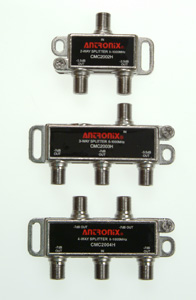 CMC 2000 Series 1GHz Horizontal & Vertical Digital Splitters