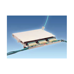 LightLink™ LANSystem™ 1RU Fiber Termination Patch/Splice Panel