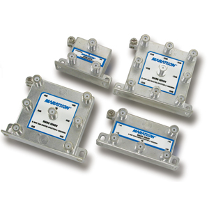 1 GHz Hi-Q Digital Splitters - Vertical 2, 3, 4, 6 & 8 Port Series