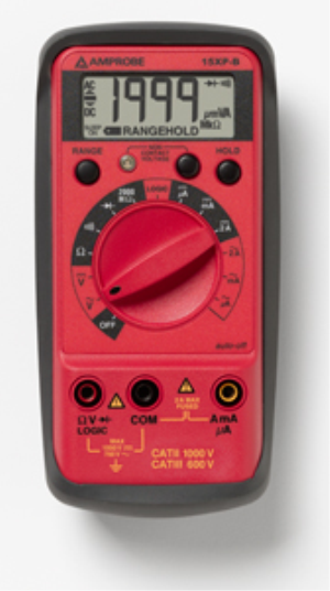 15XP-B Digital Multimeter VolTect™ Non-Contact Voltage Detection