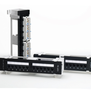 110-Type Wall Mount Patch Panels