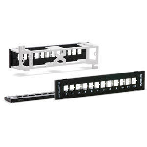 KeyWerks 12-Port Wall-Mount Panel