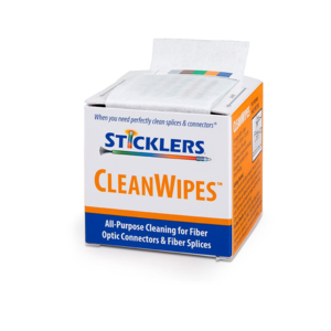 STICKLERS® CLEANWIPES® 600  — PORTABLE TOOL FOR CLEANING THOUSANDS OF END-FACES